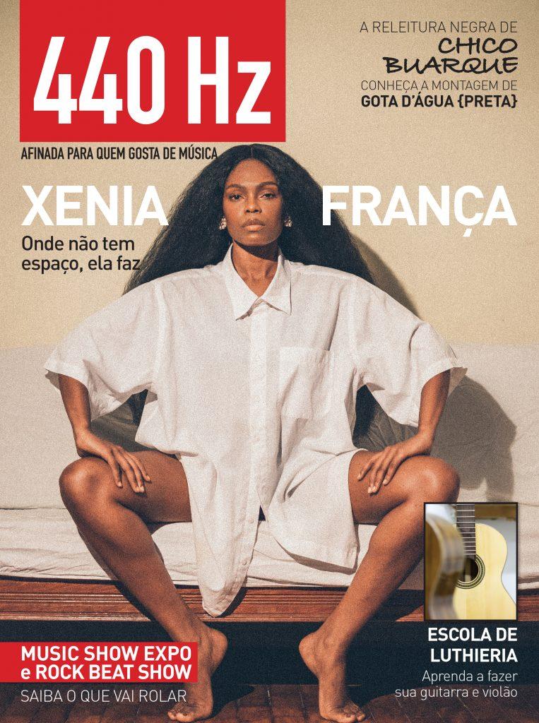 Revista 440Hz Ed.1 Capa XENIA FRANÇA